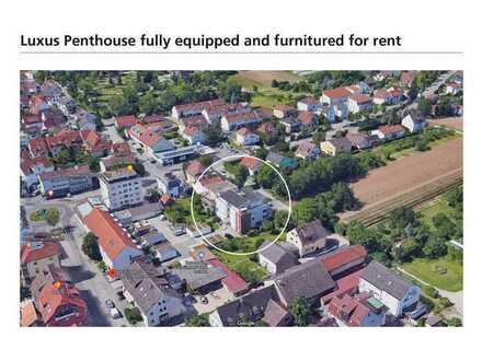 Luxus Penthouse - Top ausgestattet und möbliert