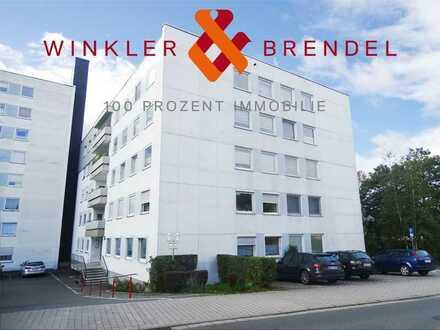Helle und gepflegte 2-Zi-Wohnung im 1. OG in Bayreuth - Meyernberg