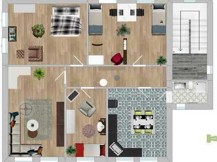4-5 Zimmer in SG-Wald: Für unsere Mieter suchen wir nette Nachbarn