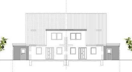 Neubau Doppelhaushälfte mit großem Grundstück in Groß-Schneen