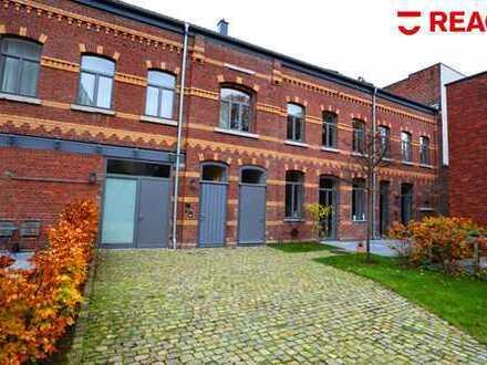 Alte Kutscherremise im Frankenberger Viertel: moderne 3-Zimmer-Wohnung mit eigenem Aufgang!