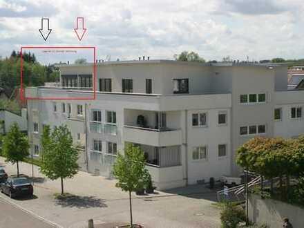 Naherholungsgebiet Günzpark - 3,5-Zi. Penthouse-Wohnung mit herrlicher Dachterrasse
