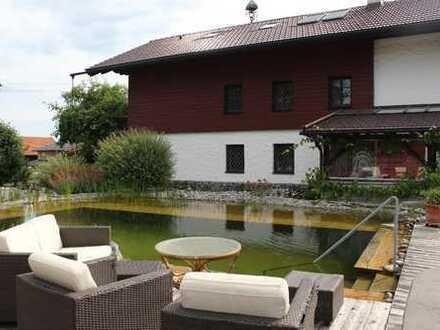 Geschmackvolles, hochwertig saniertes Bauernhaus in ruhiger Lage - nähe Burghausen