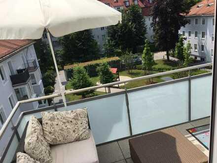 2-Zimmer Neubauwohnung zur Zwischenmiete (15.05 bis 31.07) in Schwabing, nähe von Englischem Garten