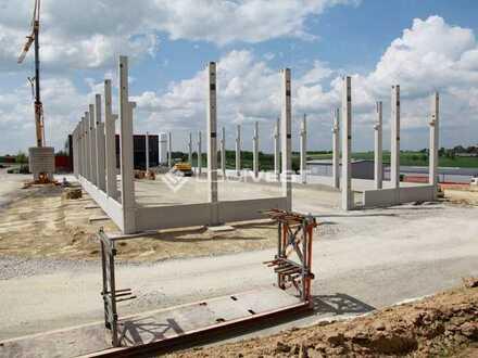 Projektierter Neubau Lagerhalle