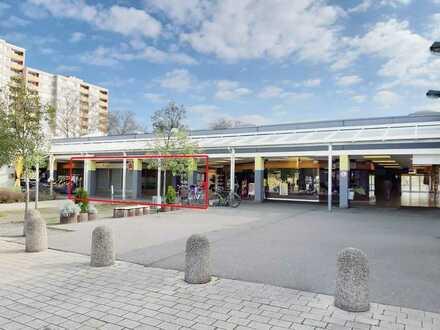 Gewerbeeinheit mit 5 Tiefgaragenstellplätzen im Ladenzentrum Pfingstweide