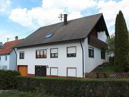 Ideal für die große Familie: 2-Fam.-Haus m. Garage in Schörzingen - Hauptwhg. frei ab 1.07.2018