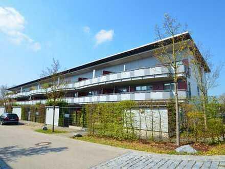 Moderne Wohnung mit Blick auf den Wasserturm der Herzogstadt