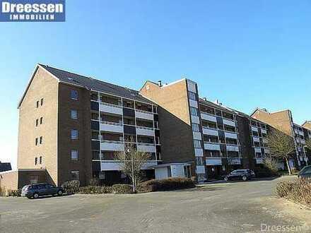 Büsum/Lagune: Freundliche 2 Zimmer Eigentumswohnung mit Loggia nahe der Familienlagune