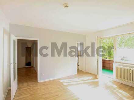 Perfekte Single-Wohnung: Sehr gepflegte 1,5-Zi.-ETW mit gemütlichem Süd-Balkon nahe Bad Segeberg