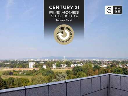 ÜBER DEN DÄCHERN Frankfurts! 3-Zimmer-Eigentumswohnung, Penthouse Feeling, Frankfurt-Eschersheim