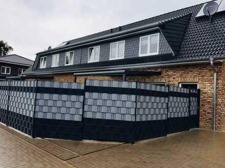 Neuwertige 3-Zimmer-Wohnung mit Balkon und Einbauküche in Ganderkesee