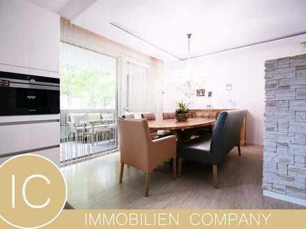 Top sanierte, hochwertige 4,5 Zimmer-Wohnung mit schöner überdachter Terrasse in Niehl