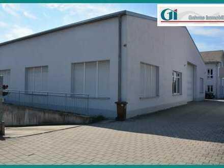 GI** In Rohrbach!!! - Halle mit Sanitärräumen und Tiefgarage