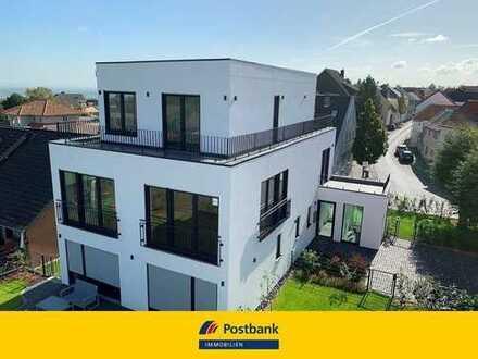 Luxus Penthouse Wohnung mit einzigartiger Fernsicht und großem Garten!