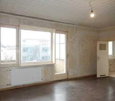 schöne 1-Zimmerwohnung mit Potential für Hobbyhandwerker