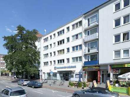 Helle 1-Zimmer Wohnung mit neuem Badezimmer am Vahrenwalder Platz