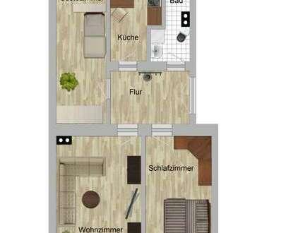 Kleine, stadtnahe 3-Zimmerwohnung!
