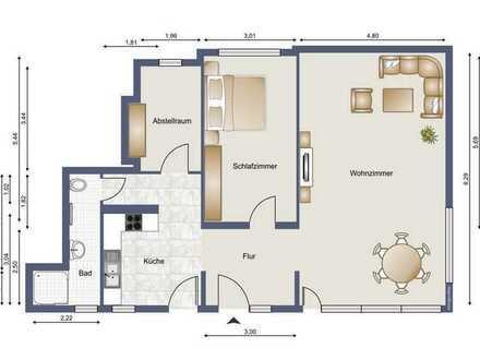 Neu renovierte Erdgeschoss-Wohnung mit eigenem Eingang in Ersingen