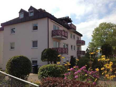 Schöne helle 4-Zimmer-Wohnung mit S/W-Balkon, EBK und TG am Sinnberg, zentral und ruhig!