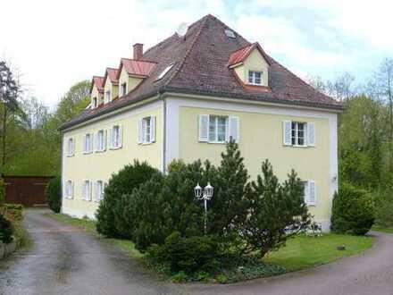 Schöne 3 Zimmer-Wohnung in einem parkähnlichen Anwesen in Maxhütte-Haidhof