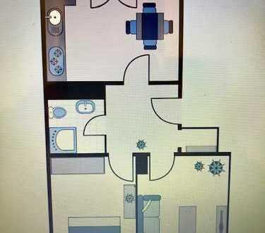 Interessante Anlage 2 Zimmer/ Wohnküche/ Balkon vermietet.