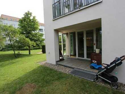 sehr schöne Terrassenwohnung im Grünen