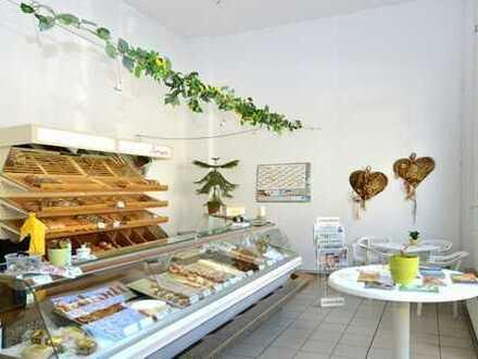 Ladengeschäft mit großer Schaufensterfläche und großer Lagerfläche in Potsdam West