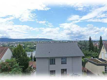 Erstbezug: Exklusive 4-Zimmer Wohnung mit fantastischem Ausblick in bester Wohnlage in Waiblingen