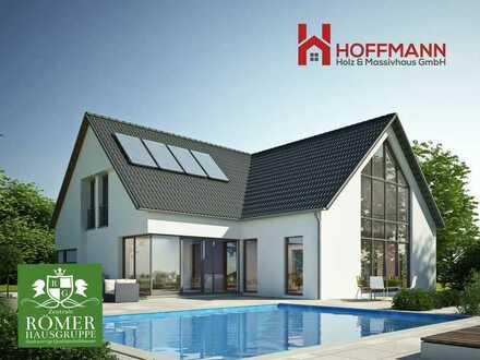 """nach Abriss: Top """"Römer""""-EFH, KFW55, schlüsselfertig, incl. top Grundstück Einzug in 8 Monaten!!"""