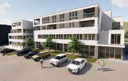 Neubau: 2 - Zimmer - Obergeschoss-Wohnung