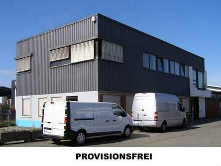 Gewerbeflächen (404m²-844m²) im Industriegebiet Weiterstadt Nord - Provisionsfrei