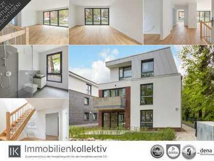 Hochwertige Neubau Maisonette-Wohnung auf 2 Ebenen, mit Garten, Terrasse & 121 qm Wohn-/Nutzfläche!