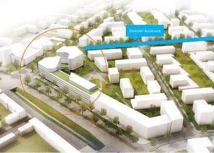 Baubeginn erfolgt: Frequenzstarke Ladenfläche am Eingang ins Güterbahn-Areal !