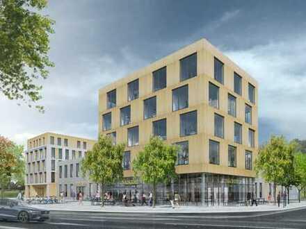 Neubau von Büro-, Praxis- und Geschäftsräumen mit direkter S-Bahn-Anbindung