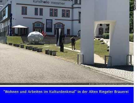 """""""Wohnen und Arbeiten im Kulturdenkmal"""" in der Alten Riegeler Brauerei"""