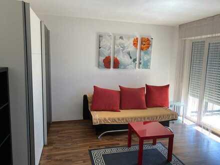 Gepflegte 1-Zimmer-Wohnung mit Balkon in Filderstadt
