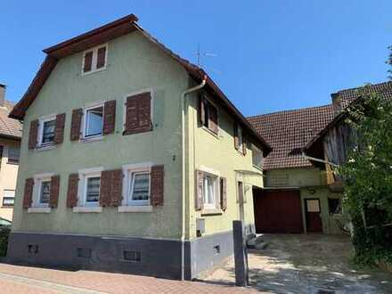 Gemütliches Einfamilienhaus mit viel Ausbaupotenzial