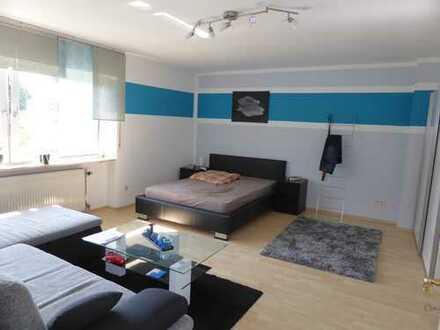 Einliegerwohnung Singlewohnung in Haibach mit Wohnküche und Terrasse