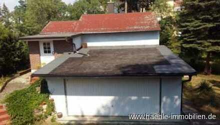 Weißer Hirsch - Kleines Haus mit großem Grundstück - bezugsfrei