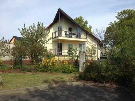 Gepflegte 1-Zimmer-EG-Wohnung mit Balkon in Ahrensfelde