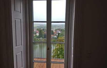großzügige Altbauwohnung mit herrlichem Blick über die Donau