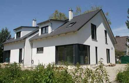 Neubau/Erstbezug - beliebtes Gröbenzell! *Großzügige Doppelhaushälfte mit Top-Ausstattung*