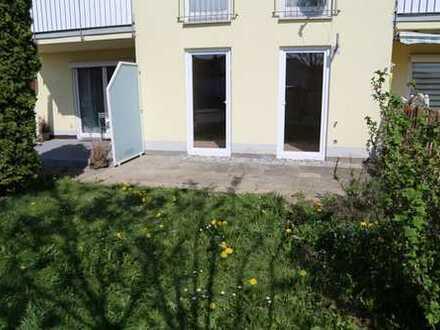 Modernisierte 1-Zimmer-EG-Wohnung mit Terasse in Tannheim