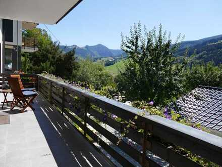 Nur 15 min von Freiburg, 3-Zimmer Wohnung mit ca. 110,00 m² und tollem Ausblick, komplett saniert
