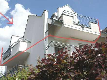 VS- Villingen: Wudnerschöne 4 - Zi - Maisonettewhg. mit Einzelgarage und 4 Balkone