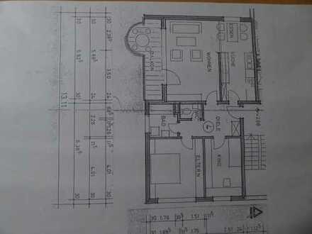 Vollständig renovierte 3,5-Zimmer-Wohnung mit Balkon in Pforzheim