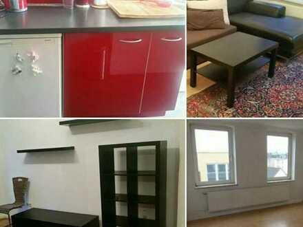 Möbliertes helles Zimmer 16m² in netter 2er-WG nahe Kiel-Hauptbahnhof