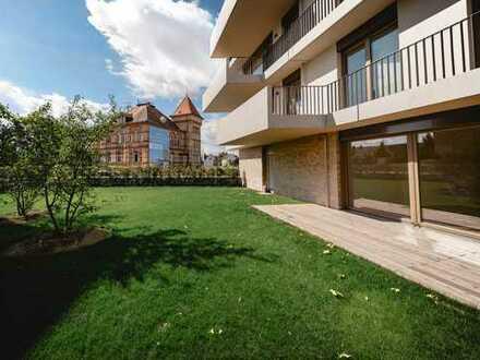 Traumhafte 4-Zimmer-Wohnung mit weitläufiger Terrasse und großem Garten zum Entspannen