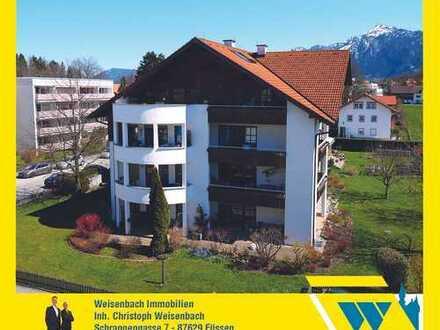 Altstadt- und zentrumsnahes Wohnen in Füssens bester Lage mit Traumblick